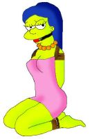 Marge Sexy -color- by SimpsonsTiedLover