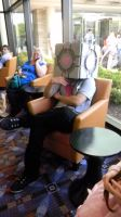 ACEN 2011 Companion Cube by OMGitsEEVEE