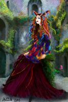 The Jester Sorceress by hydraa