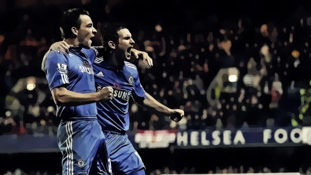John Terry and Frank Lampard Vector Wallpaper by N4S-GFX