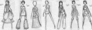 Seven Sins Collection drafts by Luai-lashire