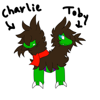 Charlie and Toby by Kryshoul