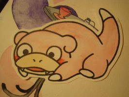 Slowpoke by agalmatophiliac