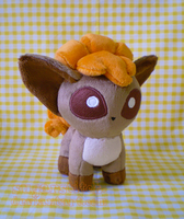 Pokemon: Vulpix Pokedoll Version 2 by sugarstitch