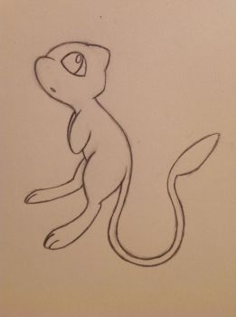 Mew sketch - 10/5/12 by Jestloo