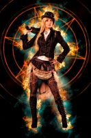 Steampunk Girl by docx