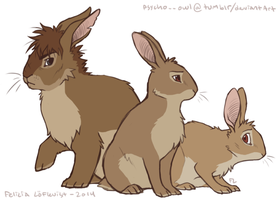 British Bunnies by Scarfowl
