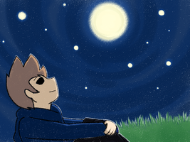 [Doodle] Those Night Stars Shine all the Same by ew-a