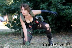 MGSV - Quiet Cosplay by LadyDaniela89