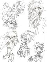 Sketches of DOOOOOOOM by ricaHama