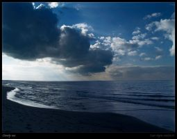 Cloudy sea II by Zair-Ugru-nad