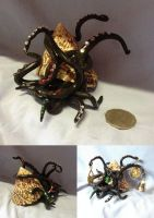 Sploggle - Sea-Shell Tenticle Monster by SonsationalCreations