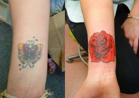 red rose cover-up by HowComeHesDead