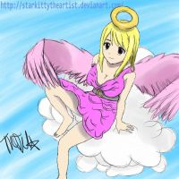 Angel Lucy - Fairy Tail by StarKittyTheArtist