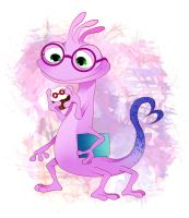 Randall in a Monsters,university by asumachimu