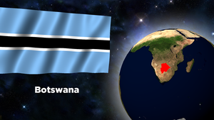 Flag Wallpaper - Botswana by darellnonis
