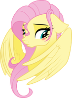 Fluttershy (other style) by Schmuzart