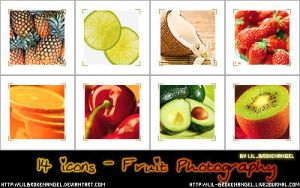 Icons - Fruits by lilbrokenangel
