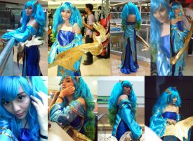 Sona Cosplay by rae-yei