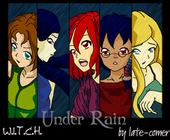 Under Rain... by Late-comer