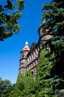 Ksiaz castle: Forest Top by Mgsblade