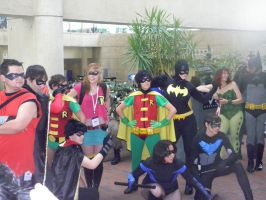Otakon 2012 - Sidekicks by mugiwaraJM