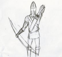 Longbowman Back by Jester-of-the-Clown