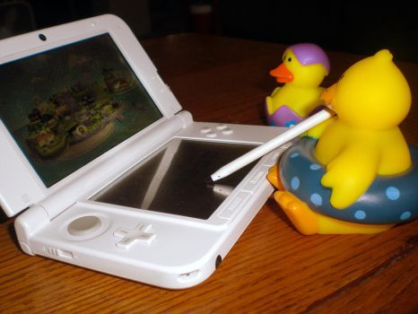 Playing the 3DS 2 by Lily-Hith-Silme