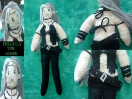 COMMISSION - Ariana Knit Doll by holls