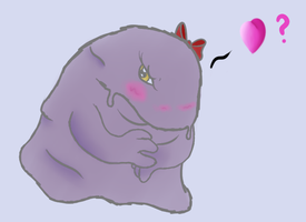 A cute Muk, apparently by Mr-Haxorus