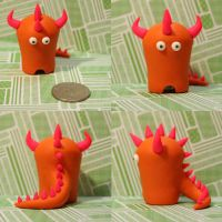 Welleck the Timid Monster by TimidMonsters