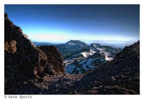 A View from Mt. Lassen by nathanspotts