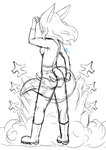 Foxy in the Sky:WIP by Mad-Hattress-Ari