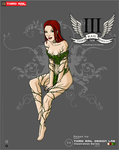 TRDL 2013 Series No.4 - Poison Ivy Variant by TRDLcomics