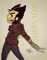 Logan aka Wolverine Comission by Happy-Bomber