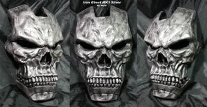 Iron Ghost Silver Faceplate by Uratz-Studios