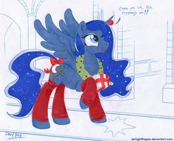 Winter Solstice 2014 by TwilightFlopple