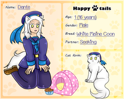 ::+HT-Dante the Sailor Kitty+:: by Apple-Rings