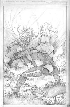 thundercats cover by Wes-StClaire