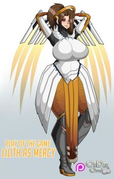 Comm : Mercy Lilith by OkiOppai