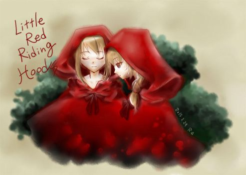 Little red riding hoods by rriee