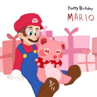 Happy birthday, Mario by asumachimu