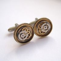 Cufflinks Model Thirty One by AMechanicalMind