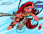Attack on Titan MLP Captain sand's OC by scootaloocuteness