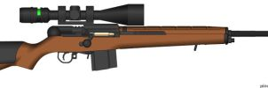 Big Game Rifle by GeneralTate