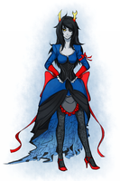 Ball gown Vriska by Rhetoricalxx