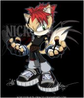 +Nickolai Syrex+ Sonic Style by InvisibleRainArt