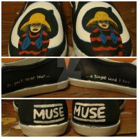 Muse - Cave Single shoes by uprisencydonian