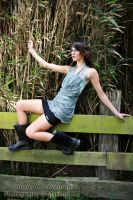 Bamboo and gumboots by natzcv