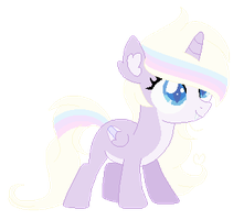 Pastel Hybrid Filly Adopt (CLOSED) by iVuiAdopts